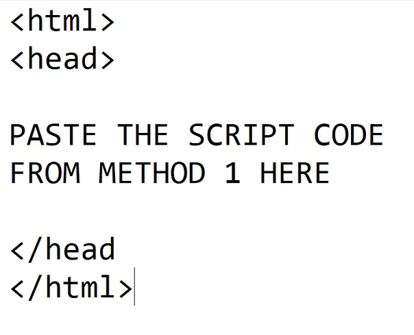 how a valid code looks