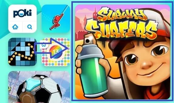 subway surfer poki game